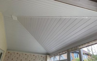 New conservatory roof conversion