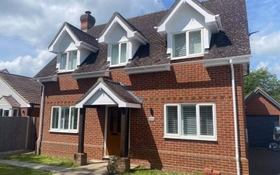 Fascia, soffit and guttering…