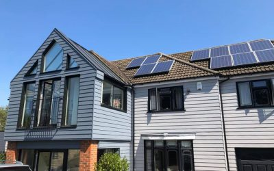 New Cedral Weatherboards and Windows…